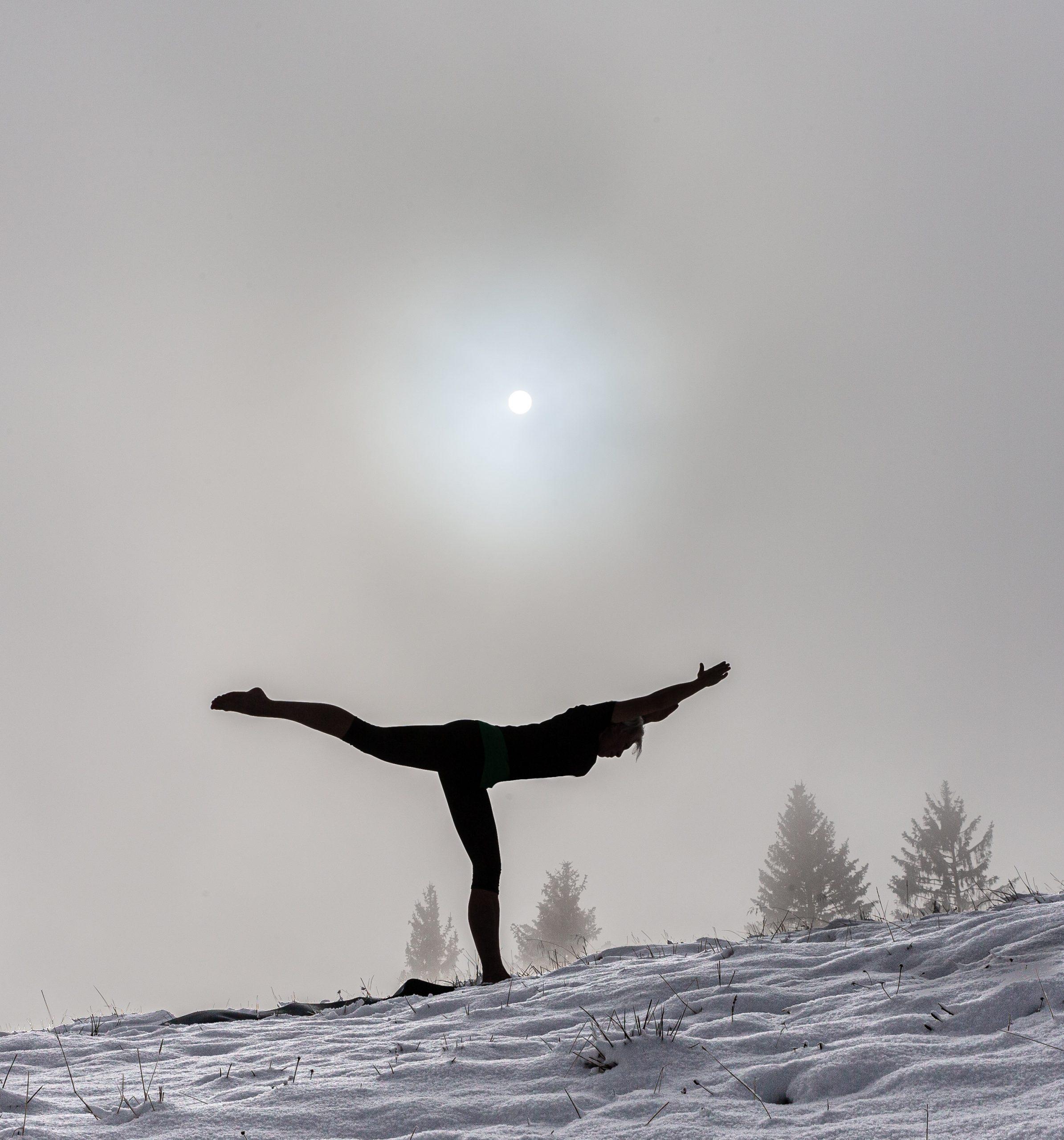 Hatha Yoga Krieger 3 Miri Zinck