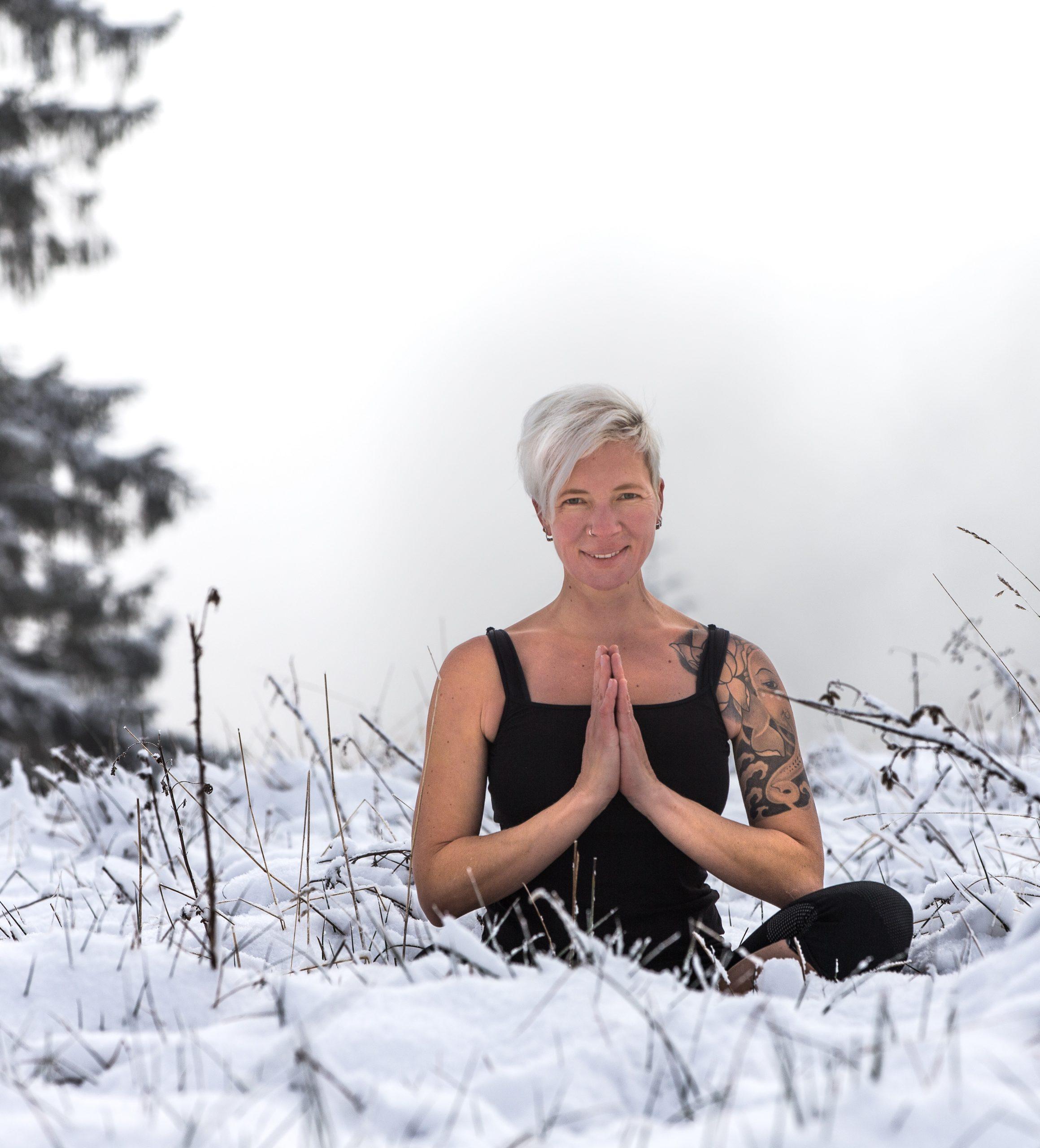 Hatha Yoga Lotussitz Miri Zinck